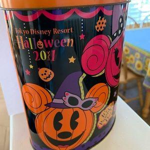 Halloween 2011 Tokyo Disney Empty tin can Japan